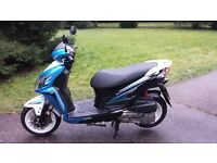 SYM Jet4 125cc 2014 low mileage