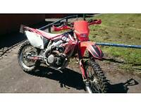 Crf450x enduro Road registered crf. Not Yzf. Rmz. Ktm