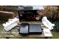 George Foreman fat reducing health grill black with box manuals