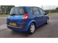 RENAULT SCENIC 1.4 MANUAL IN TOP CONDITION. MOT TILL MAY 2017. TAXED AND INSURED READY TO DRIVE AWAY