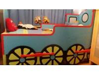 Wooden Thomas bed