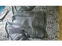 GTS JTS Leather motorbike jacket