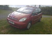 2004 citreon xsara picasso exclusive 1.7 Petrol with LPG gas conversion long m.o.t