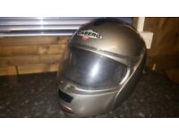 ceberg open face with sun glasses build in motorbike helmet!can deliver or Post!