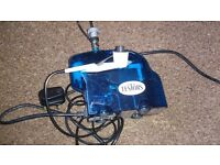 Testors Mini Blue compressor c/w Airbrush