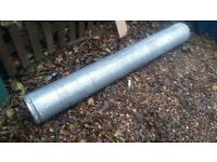 """5"""" insulated chimney liner."""