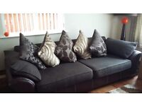 4 seater sofa and comfer