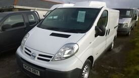 nissan primastar se dci 115 s.w.b., 2008 registration, 136,000 miles, new mot on purchase