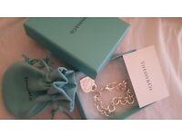 Brand new sterling silver tiffany bracelet