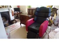 Seating Matters Phoenix Chair With Bi Lateral Support for Disability Red and Black Used Twice