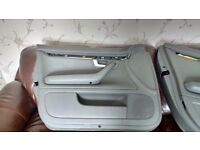 Audi A4 b6 full leather door cards