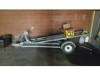 Car dolly towing dolly a frame
