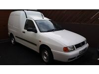 VW Caddy 1.9 tdi van, MOT'd until Jun 17 120k