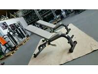 1 SYBEX BENCH. ADJUSTABLE BENCH. COMMERCIAL GYM QUIPMENT