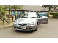 Mazda 323 with long mot and nice drive