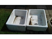 Old sinks ideal for garden planters Each £20