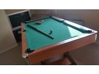 Pool table . Full size everything included .. can deliver ..