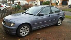 BMW 3 SERIES E46 318I SE AUTOMATIC 2002 52 REG