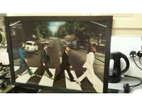 "Large Beatles "" abbey road"" 3,d coulered picture.."