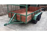 10FT X5FT TWIN AXLE TRAILER