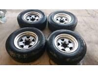 4x4 truck alloys jdm fit ranger, L200, hilux etc