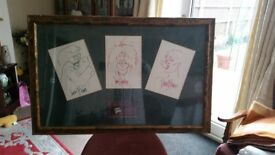 Framed scetches