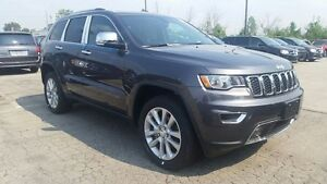 2017 Jeep Grand Cherokee NEW, LIMITED, SUNROOF, LEATHER