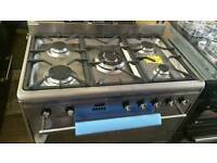 New ex display smeg 80cm range cooker