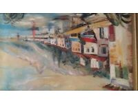 ANTIQUE OIL PAINTING BY IRA ENGLEFIELD