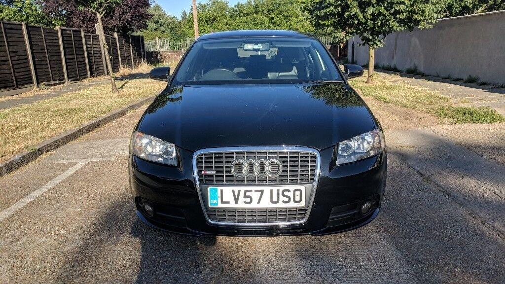 Audi a3 SLine 2.0 2007 Black