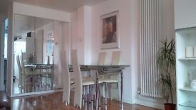 2 double bedroom, 2 bathroom spacious and modern home with garden