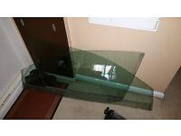 Seat ibiza 3 door model driver or passenger side front door window glass 02-08 mk4