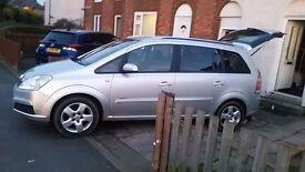 Vauxhall zafira quick sale