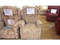 'Compact' Celebrity Woburn Dual Motor Riser Recliner Chair