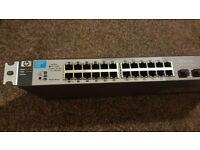 HP ProCurve 1810G-24 Managed Gigabit Ethernet J9450A