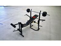 Pro Power weights bench.