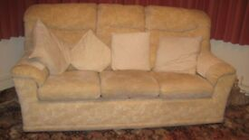 G plan settee and arm chair