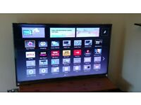 "PANASONIC 55"" TX-55AS802B 3D HD LED WIFI TV £395"