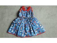beautiful dress from next dog pattern