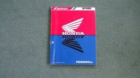 Honda Fes 250 Foresight Workshop Manual