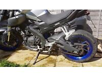 Learner legal yamaha MT-125 ABS - the best 125!
