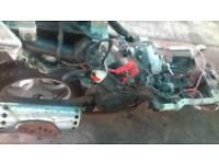 Chinese 50cc lintex parts. Engine cdi exhaust wheel brakes