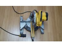 240v Dewalt DW707 Crosscut Compound Mitre Chop Saw 240v