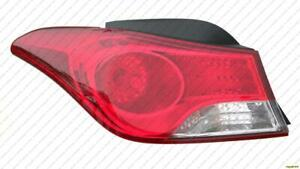 Tail Light Driver Side Sedan (Usa Built) High Quality Hyundai Elantra 2011-2013