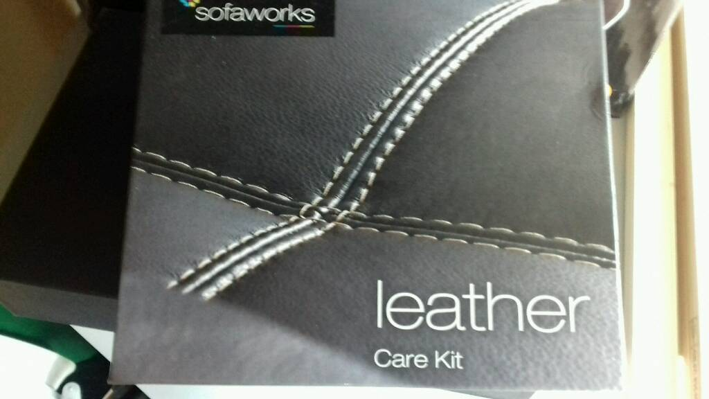 Sofa Works Leather Care Kit Brand New