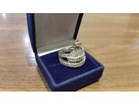 VIVIENNE WESTWOOD Silver Orb Ring For Sale
