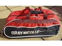 Gray-Nicolls Cricket Bag (black, red and white)