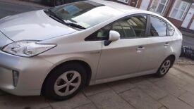Toyota prius 62 plate