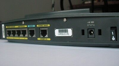 100 Ethernet Broadband Router (Cisco 830 Series 831 Secure Ethernet Broadband Router 100.0 Mbps - Excl PSU)