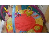 Baby play mat and changing mat